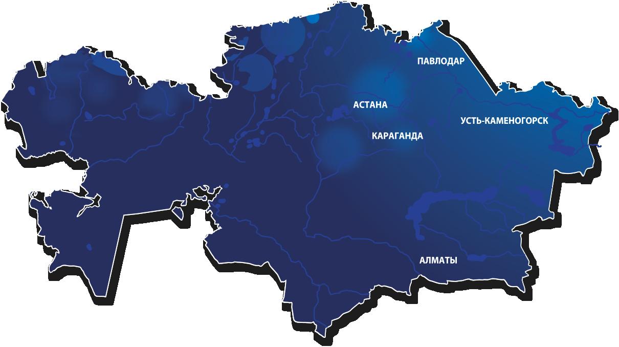 Ост-Фарм. Контакты. Филиалы компании в Казахстане