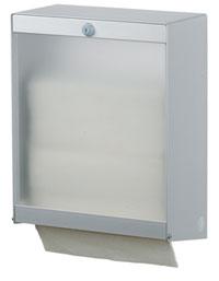 Диспенсер одноразовых полотенец HS 3 (с прозрачной передней панелью)