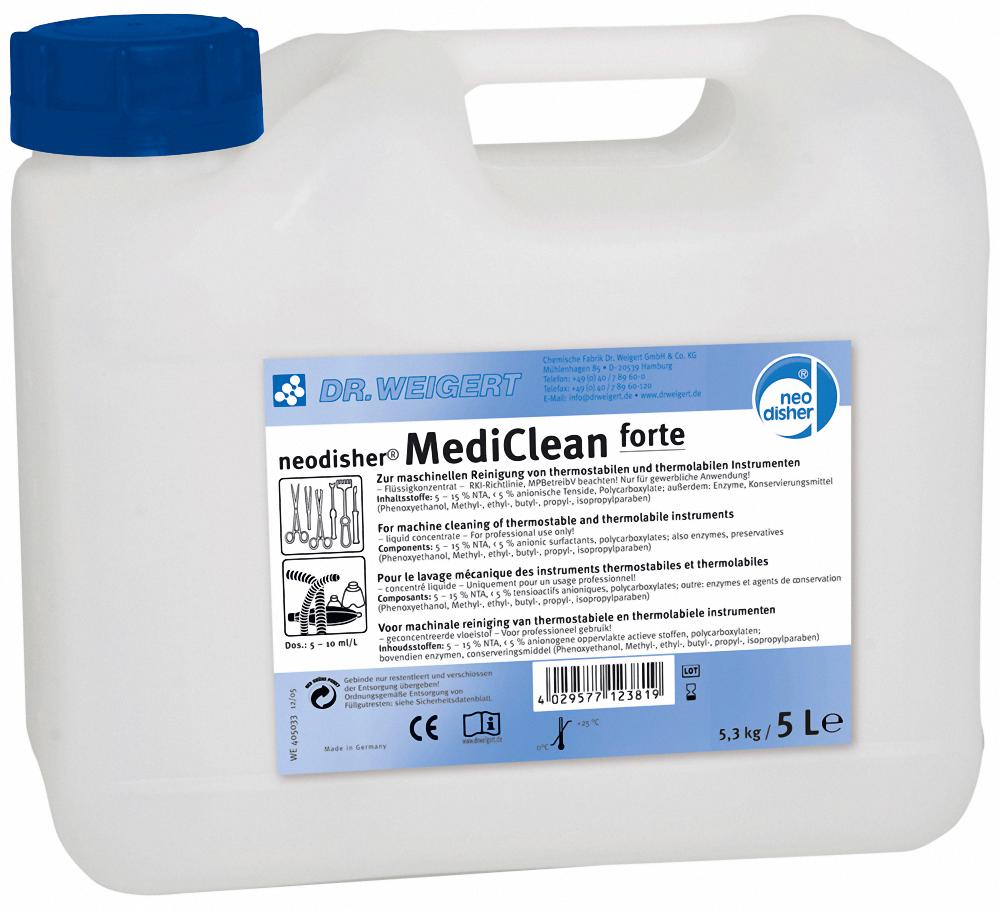 Щелочное моющее средство Neodisher® MediClean forte (Неодишер Медиклин форте)