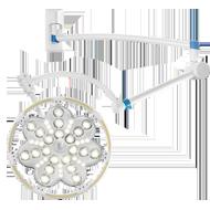 Хирургический операционный светильник «ЭМАЛЕД 300 настенный»