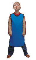 Фартук рентгенозащитный односторонний детский