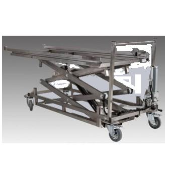 Тележка гидравлическая транспортная с весами
