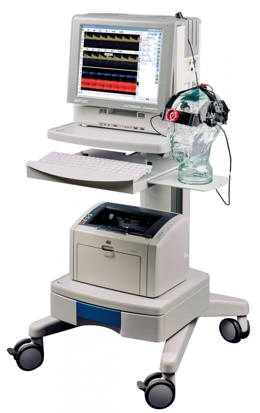 Комплекс мониторинга мозгового кровообращения Ангиодин-Универсал