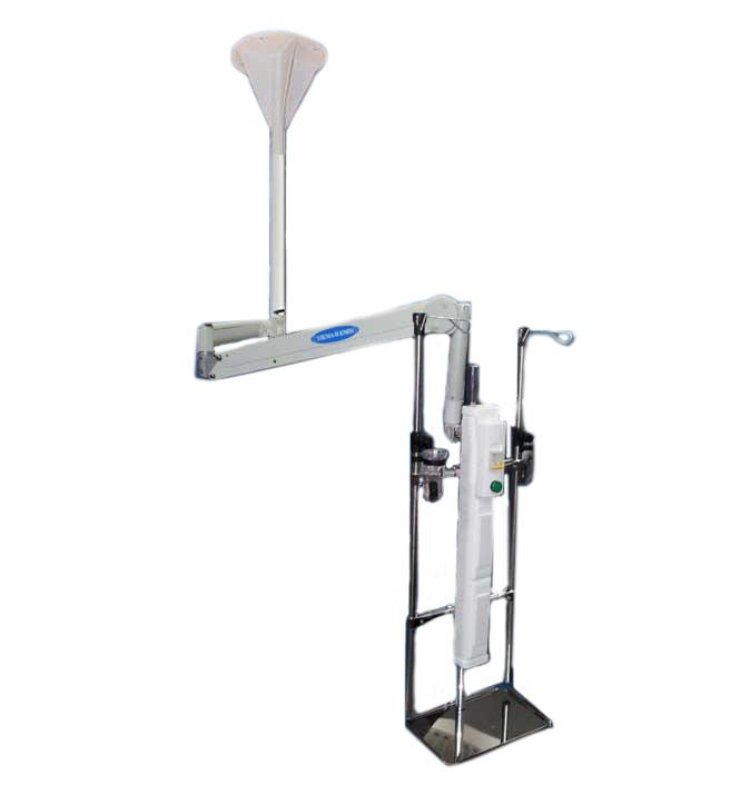 Консоль реанимационная подвесная электрическая Элема-Н КМР1 (мод.ПЭ)