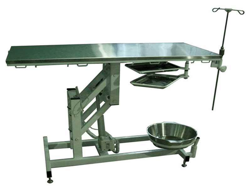 Стол операционный ветеринарный  СОВ-ЭП-01