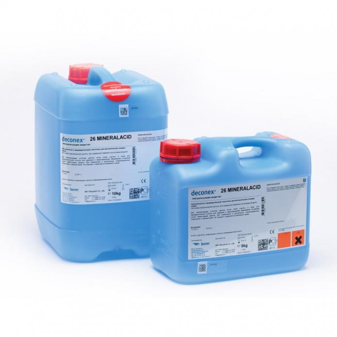 Нейтрализующее и ополаскивающее средство Deconex® 26 MINERALACID (Деконекс 26 Минералацид)