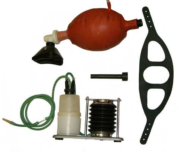 Аппарат искусственного дыхания ручной АДР-1 с отсасывателем