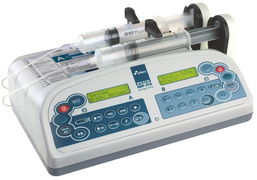 Насос двухшприцевой инфузионный SEP-21S Plus
