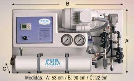 Система очистки воды методом обратного осмоса, Модель АР250