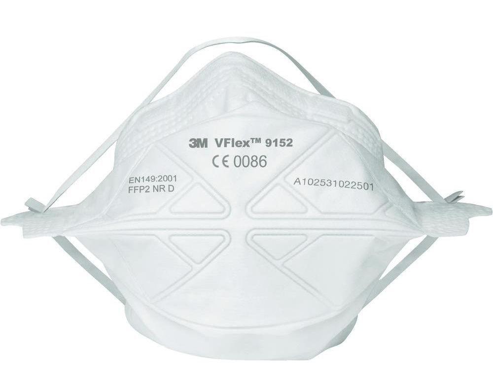 Респиратор 3М 9152R VFLEX противоаэрозольный, степень защиты FFP2, складной