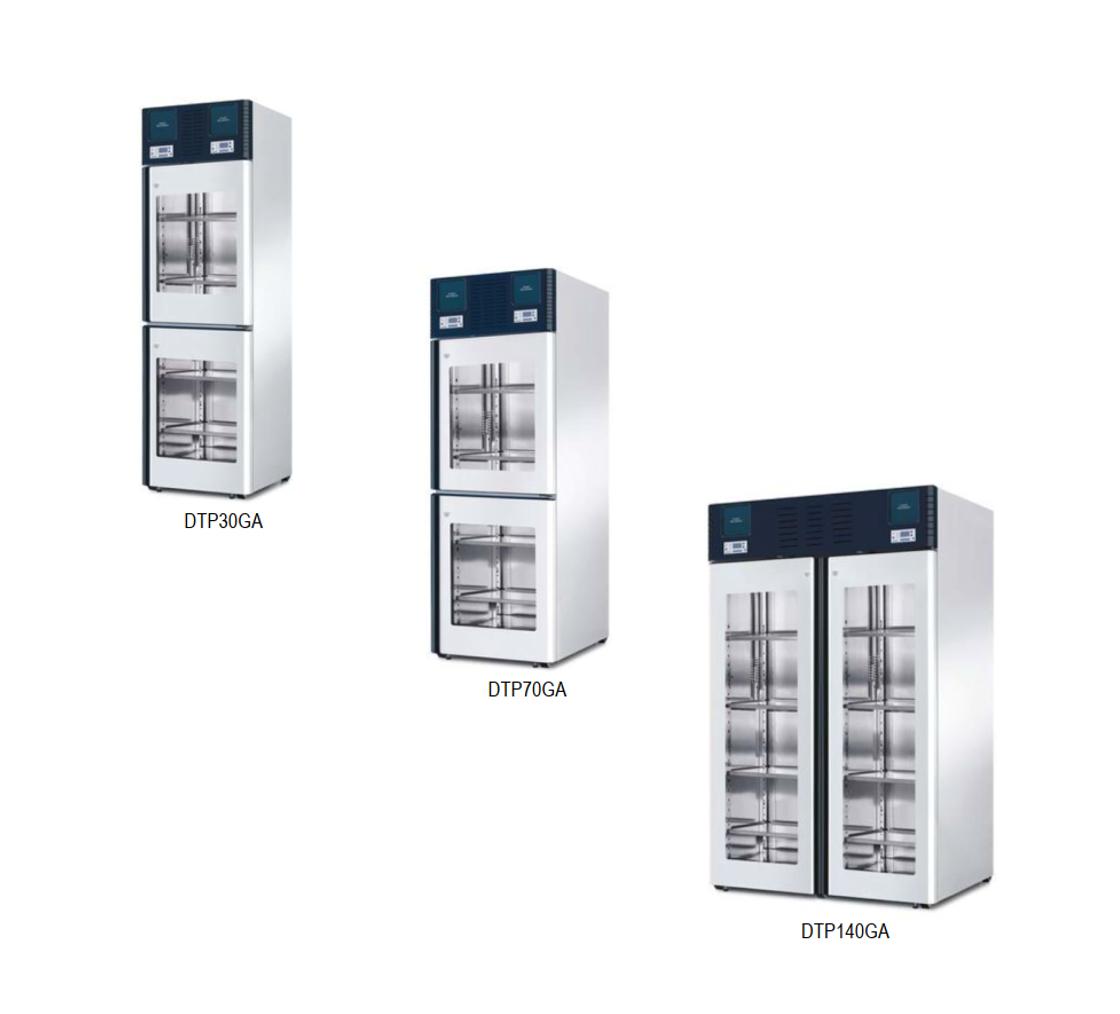 Холодильники 2-х дверные профессиональные медицинские DTP-G,  Smeg (Италия)